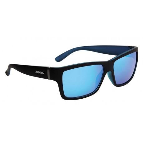 ALPINA OKULARY KACEY kolor BLACK MATT-BLUE szkło BLUE MIRROR