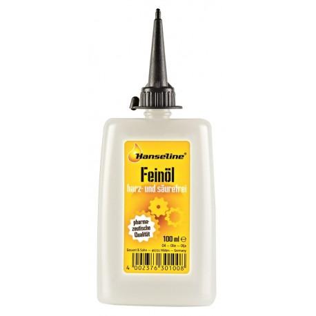 HANSELINE Oliwka 100 ml Precision Oil (olej do roweru bez żywic i kwasów)
