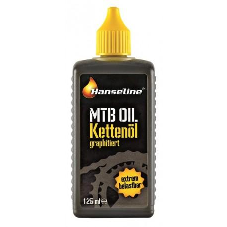 HANSELINE Oliwka 125 ml MTB OIL with graphite (olej MTB z grafitem)