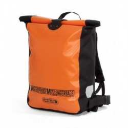 ORTLIEB KURIERS.  PLECAK MESSENGER BAG ORANGE-BLACK 30L