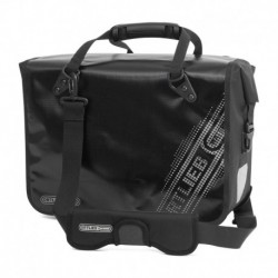 ORTLIEB TORBA MIEJSKA OFFICE-BAG QL3 L BLACK'N WHITE LINE, BLACK 21L