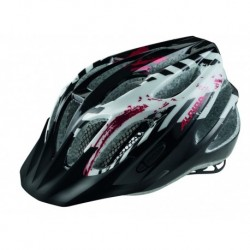 ALPINA KASK FB JUNIOR 2.0 BLACK-WHITE-RED  50-55