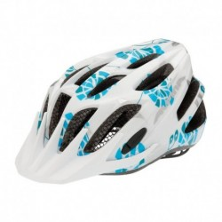 ALPINA KASK FB JUNIOR 2.0 WHITE-CYAN-SILVER 50-55