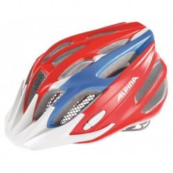 ALPINA KASK FB JUNIOR 2.0 RED-BLUE-WHITE 50-55
