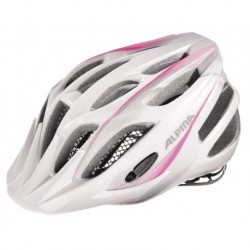 ALPINA KASK FB JUNIOR 2.0  FLASH WHITE-PINK-SILVER 50-55