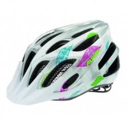 ALPINA KASK FB JUNIOR 2.0  FLASH WHITE-SILVER FLAGS 50-55