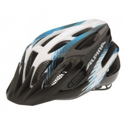 ALPINA KASK FB JUNIOR 2.0  FLASH BLACK-WHITE-BLUE 50-55