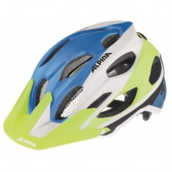 ALPINA KASK CARAPAX BLUE-WHITE-YELLOW 53-57