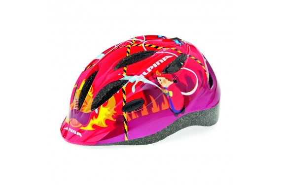 ALPINA KASK GAMMA 2.0 RED FIREFIGHTER 51-56