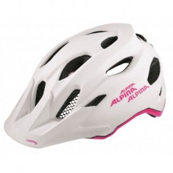 ALPINA KASK CARAPAX JUNIOR FLASH WHITE-PINK 51-56