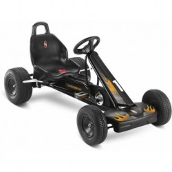 PUKY Go-Cart-opony pompowane  F 1 L schwarz
