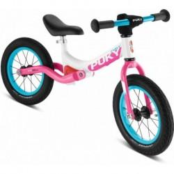 PUKY Amortyzowany rowerek biegowy  LR Ride weiß/pink