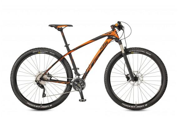 Rower KTM AERA 29 COMP 20 carbon matt (orange)