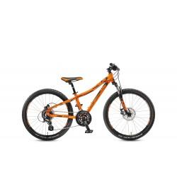 Rower KTM WILD SPEED 24.24 DISC orange matt (black)