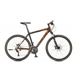 Rower KTM CHRONOS carbon matt (orange+grey)