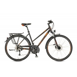 Rower KTM LIFE SPACE black matt (orange)