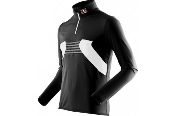 Bluza męska z krótkim zamkiem X-Bionic RACOON ZIP UP UPD