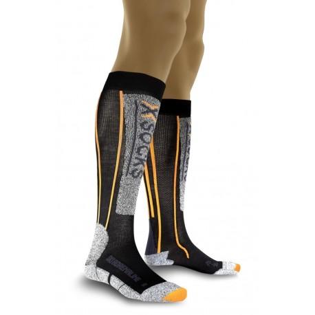 Skarpety X-Socks SKI ADRENALINE SILVER