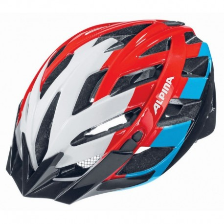 ALPINA KASK PANOMA WHITE-RED-BLUE 56-59