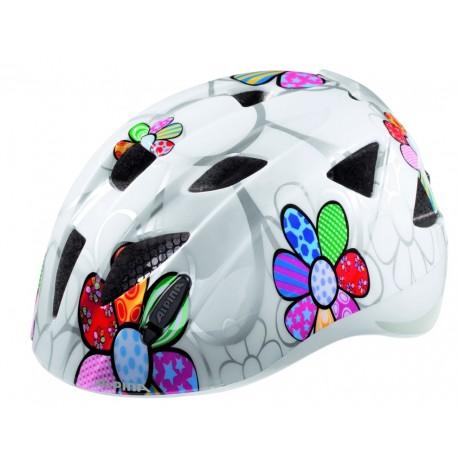 ALPINA KASK XIMO FLASH WHITE FLOWER 47-51