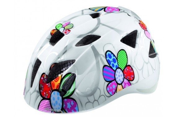 ALPINA KASK XIMO FLASH WHITE FLOWER 49-54