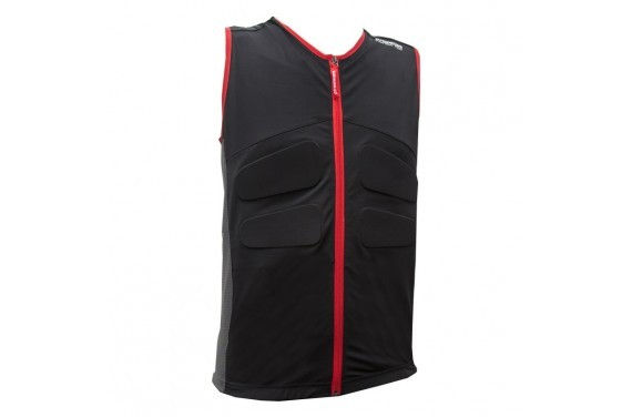 Kamizelka ochronna Marker BODY VEST MAP MEN BLACK/RED