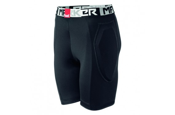 Spodenki ochronne Marker BODY SHORT MAP BLACK