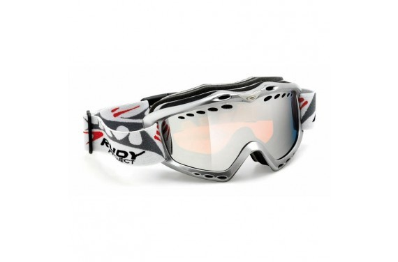 Gogle RUDY PROJECT KLONYX - SNOW COLLECTION LASER SILVER DOUBLE LENS TITANIUM