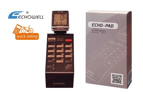 Echo-Pad do szybkiego podawania parametrów