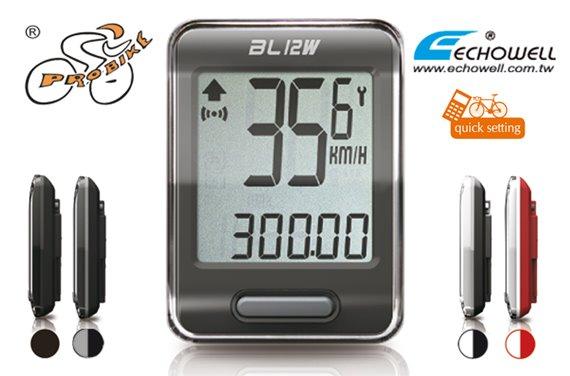 Licznik Echo BL-12W bezprzewodowy