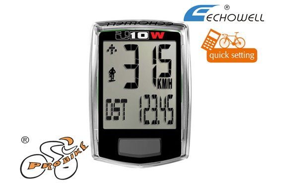 Licznik Echo-U10W bezprzewodowy
