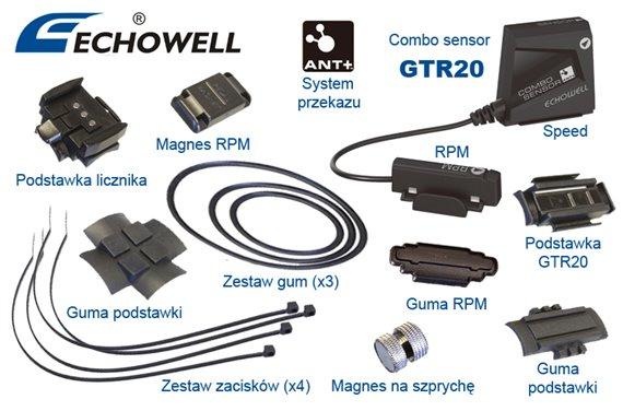 Zestaw na 2-gi Rower do MW10G Combo