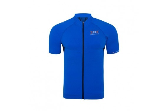 Koszulka męska X-Bionic BIKE RACE THE TRICK SHIRT SHORT SL FULL ZIP MAN