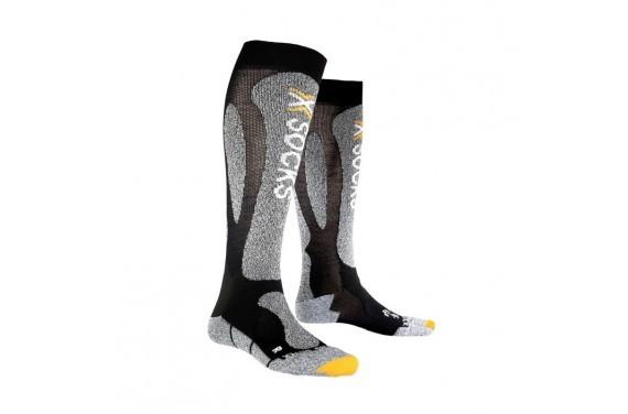 Skarpety X-Socks SKI CARVING SILVER