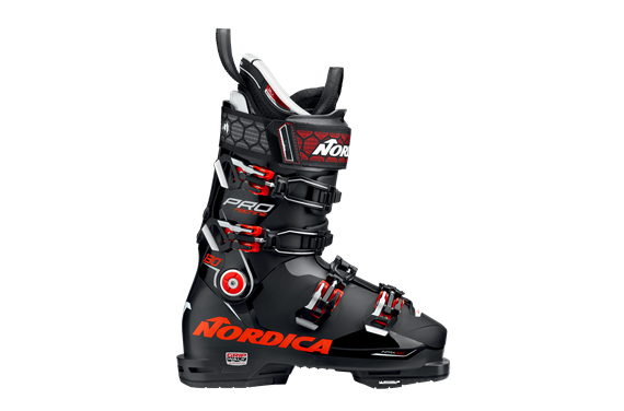Buty nar. męskie Nordica PRO MACHINE 130 (GW) BLACK-RED