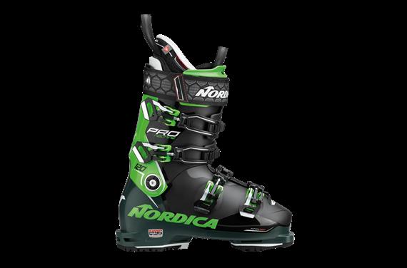 BUTY NAR. NORDICA PRO MACHINE 120 (GW) BLACK-GREEN