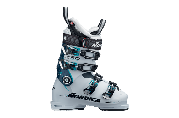 BUTY NAR. NORDICA PRO MACHINE 105 W WHITE-BLUE-LIGHT BLUE