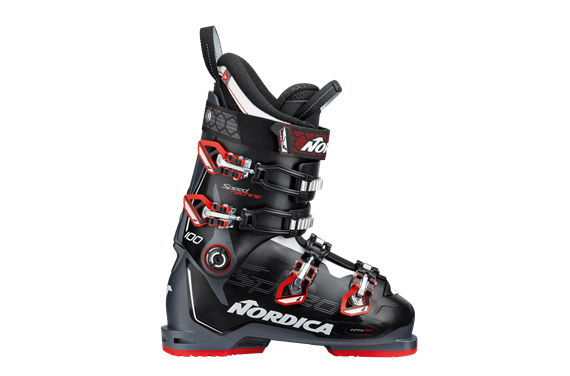 BUTY NAR. NORDICA SPEEDMACHINE 100 BLACK-ANTHRACITE-RED