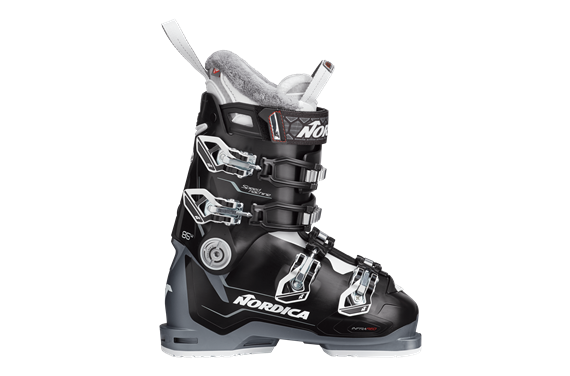 BUTY NAR. NORDICA SPEEDMACHINE 85 W BLACK-ANTHRACITE-WHITE