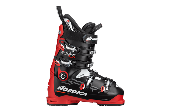BUTY NAR. NORDICA SPORTMACHINE 100 BLACK-RED-WHITE