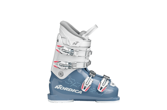 BUTY NAR. NORDICA SPEEDMACHINE J 4 GIRL LIGHT BLUE-WHITE