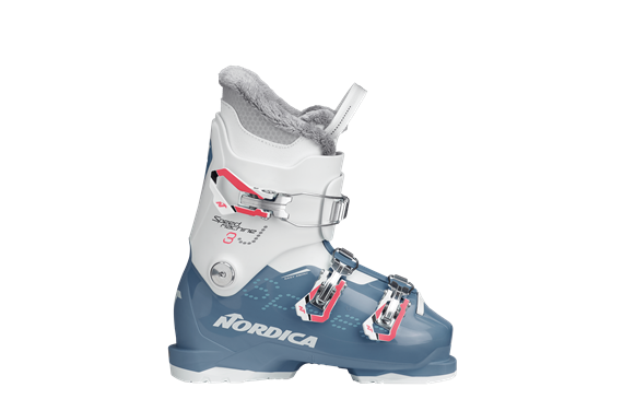 BUTY NAR. NORDICA SPEEDMACHINE J 3 (GIRL) LIGHT BLUE-WHITE