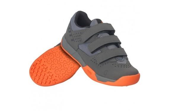 Buty Scott MTB AR Kids Strap grey/orange SAMPLE SI