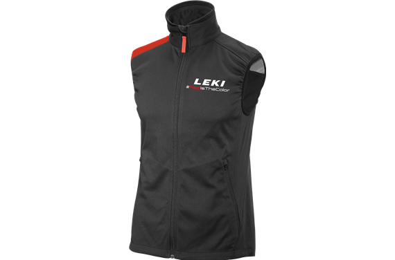 LEKI Softshell Light West Red, size S