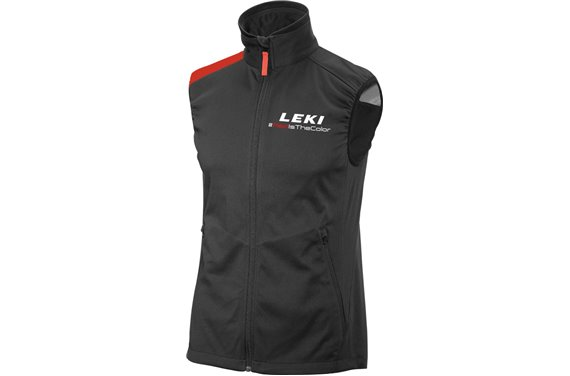 LEKI Softshell Light West Red, size XXXL