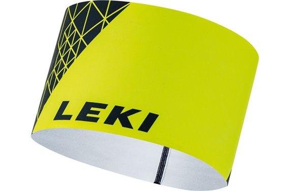LEKI Opaska na głowę 4 Season, niebieski/żółty