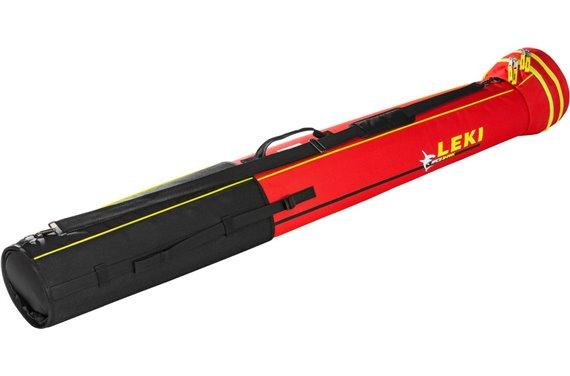 LEKI XC Tube Bag Shark, regulowana na max. 8 par kijów (czerwony)