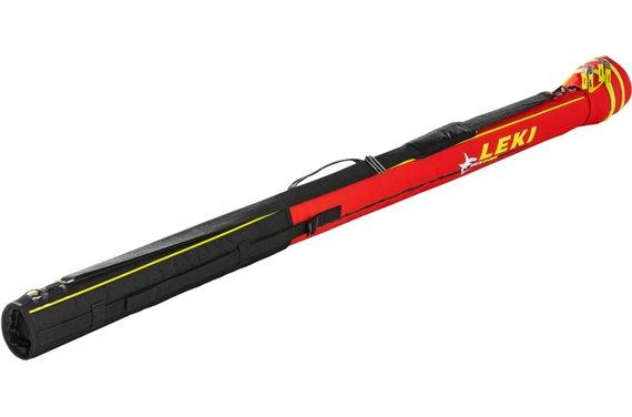 LEKI XC Tube Bag Shark, regulowana na max. 2 par kijów (czerwony)