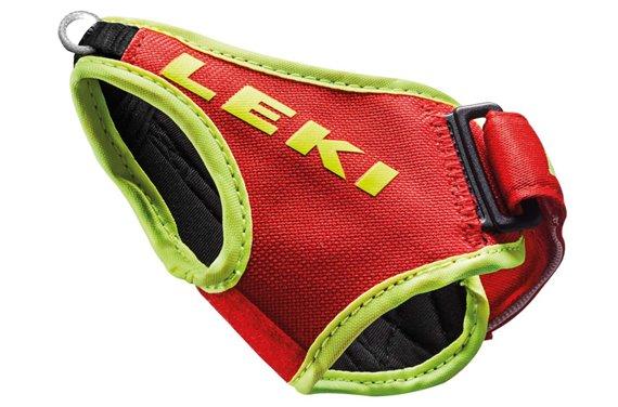 LEKI Paski Frame Shark, M-L-XL, neon czerwony
