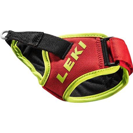 LEKI Paski Frame Trigger S, M-L-XL, czerwony